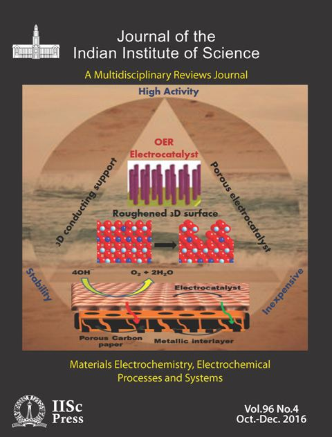 View Vol. 96 No. 4 (2016): Materials Electrochemistry, Electrochemical Processes and Systems